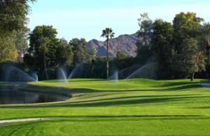 Palm Desert Golf - Hole 16