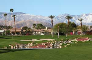 Palm Desert Golf - Hole 18