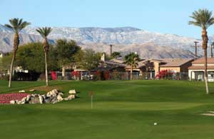 Palm Desert Golf - Hole 9